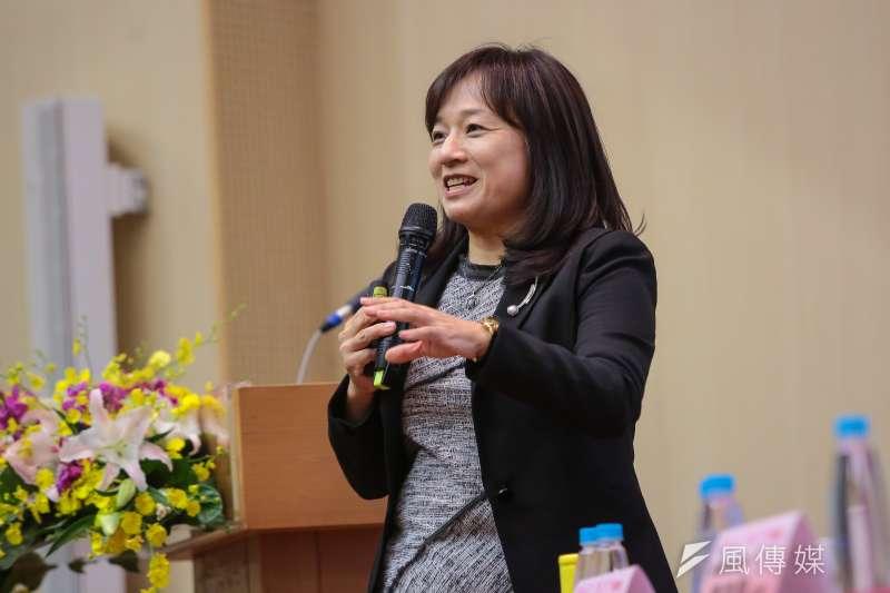 20171031-台北高等行政法院法官張瑜鳳31日出席「改革司法、點亮台灣」座談會。(顏麟宇攝)