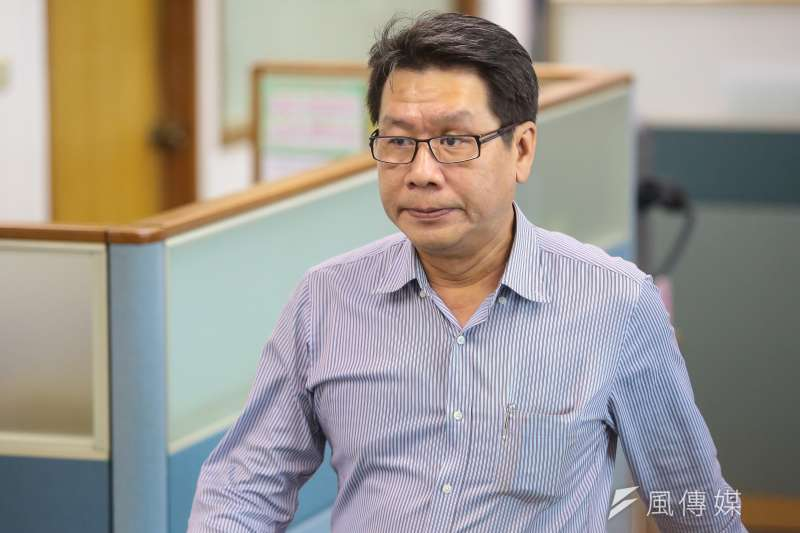 20171108-中常委沈發惠8日出席民進黨中常會。(顏麟宇攝)