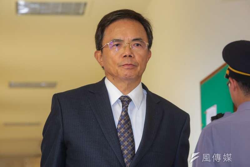 法務部次長蔡碧仲15日列席立院委員會。(顏麟宇攝)