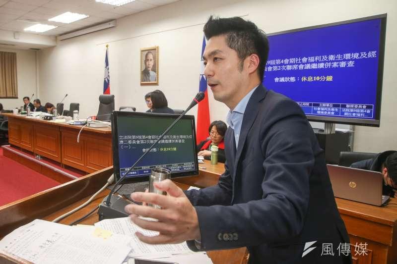 由於這次勞基法修法,國民黨立委蔣萬安的表態獲得網友認同,在網路聲量上創造了一個新的巔峰。(陳明仁攝)