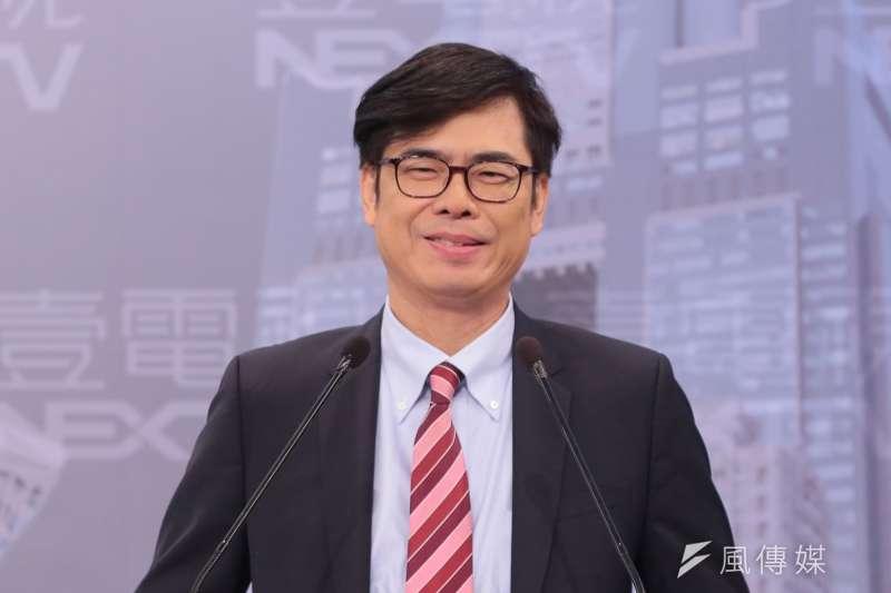 民進黨立委陳其邁在高雄市長候選人民調中拔得頭籌。(資料照,顏麟宇攝)