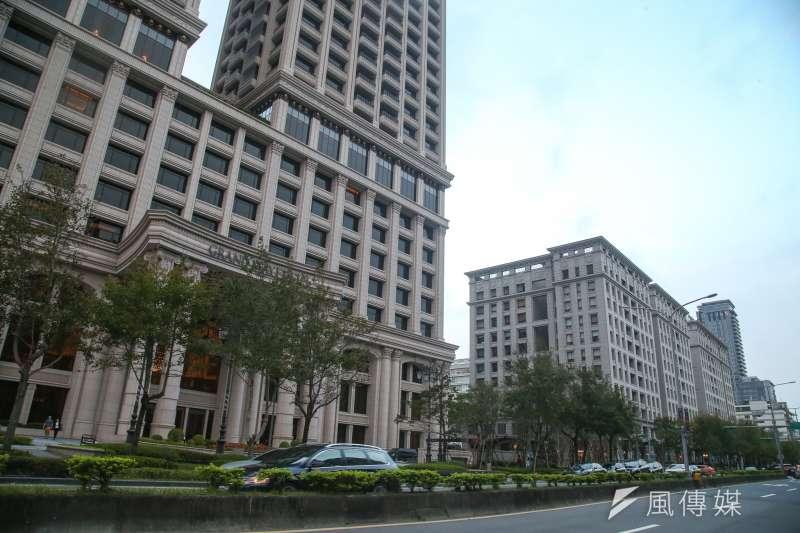 台北市大直的大彎北段是住商混合區,其中有高達千戶的商業宅違法使用待罰。(資料照,陳明仁攝)