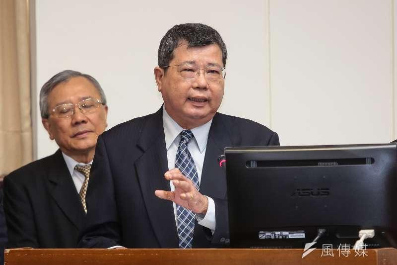 中油總經理劉晟熙因815大停電遭記過2次,據知情人士指出,劉晟熙在去年11月6日上任時就曾提出口頭請辭。(資料照,顏麟宇攝)