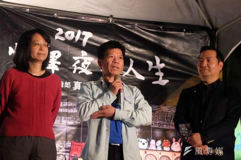 20171202鄭性澤的夜市人生於寧夏夜市-鄭性澤(謝孟穎攝)