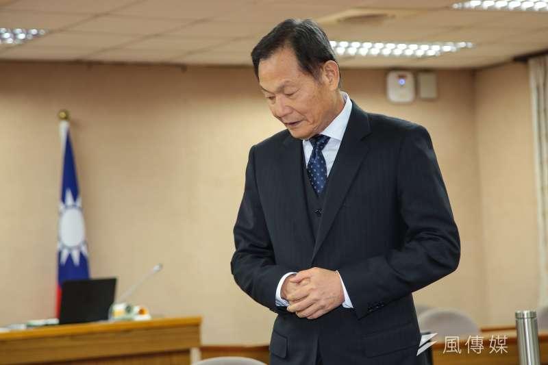 20171206-退輔會主委李翔宙6日出席外交國防委員會。(顏麟宇攝)