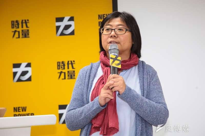 時代力量秘書長陳惠敏表示,由於候選人多是「政治素人」,能見度、募款能力及資源相對不足,因此未來將走「小額募款」路線。(資料照,顏麟宇攝)