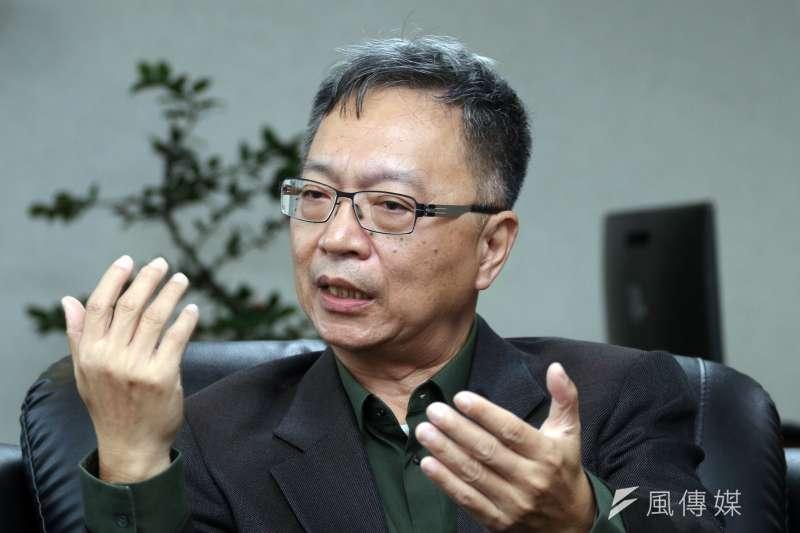 20171206-專訪衛生福利部常務次長薛瑞元。(蘇仲泓攝)