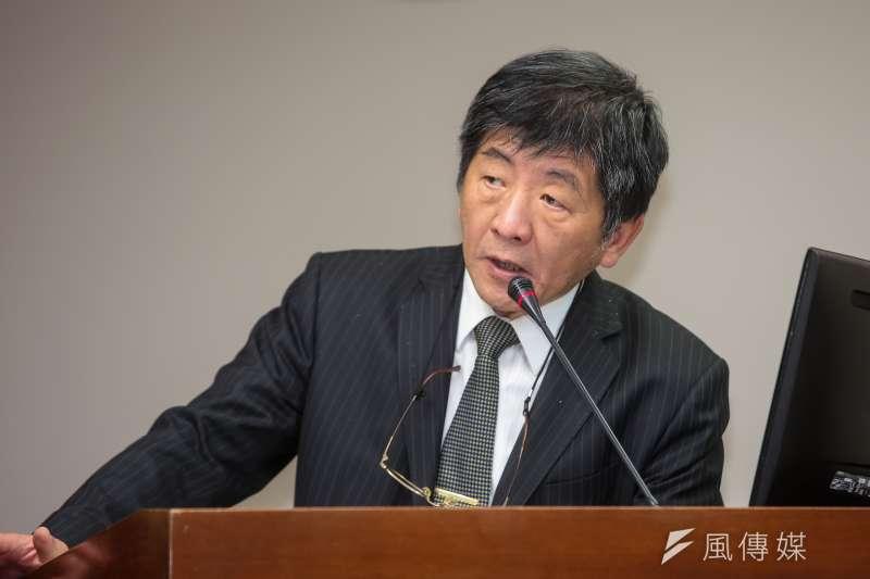 20171207-衛福部長陳時中7日於衛環委員會備詢。(顏麟宇攝)