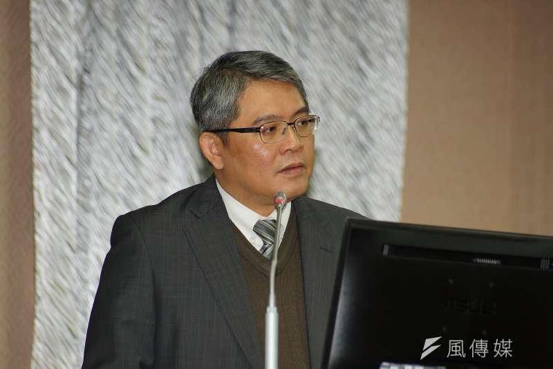 20171214-內政部次長花敬群出席內政委員會質詢。(盧逸峰攝)