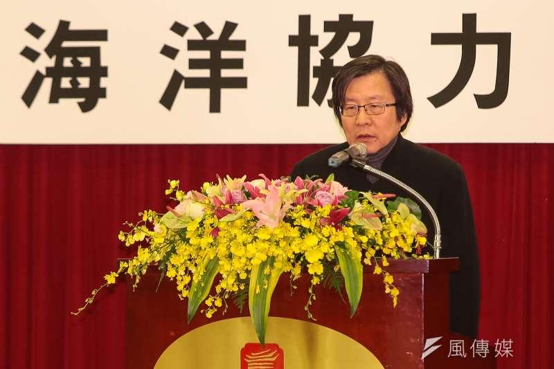 20171219-台日關係協會會長邱義仁19日出席「台日海洋事務合作對話會議」。(顏麟宇攝)