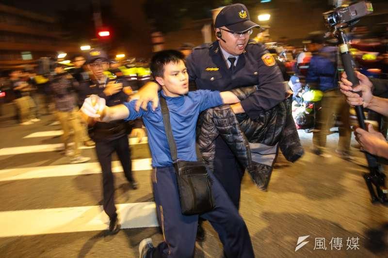 勞基法修法引爆台灣社會激烈爭議。(顏麟宇攝)