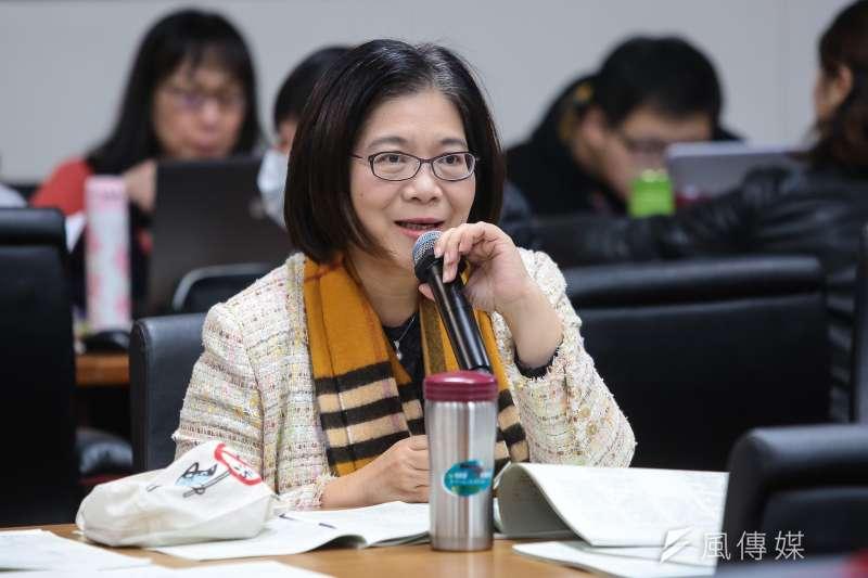 民進黨立委管碧玲傳出要接全教育部長,不過傳不過半天又傳高層不考慮了。(顏麟宇攝)