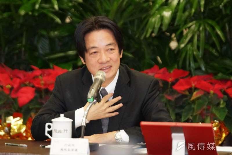 20171227-行政院年終記者會,賴清德發言。(盧逸峰攝)
