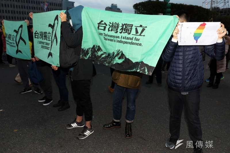 徐斯儉宣稱委由政大選研中心進行的民調結果指出,若被問到台灣正式宣布獨立而導致中國對台動武,是否一戰時,台灣有7成受訪者承諾一戰。(資料照,蘇仲泓攝)