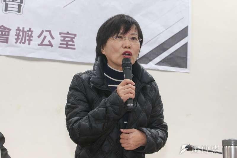 立委劉世芳宣布退出高雄市長黨內初選。(陳明仁攝)