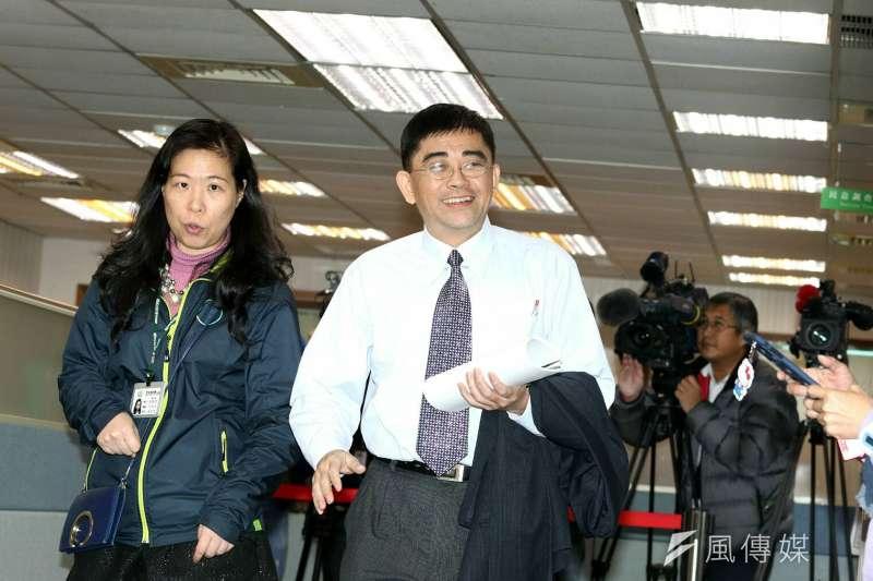 國發會副主委邱俊榮因偷拍事件請辭。(資料照,蘇仲泓攝)
