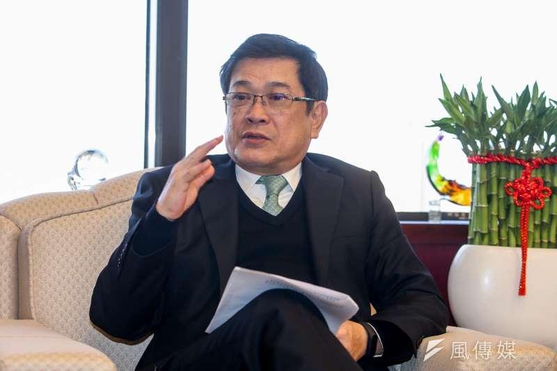 台電董事長楊偉甫專訪。(陳明仁攝)