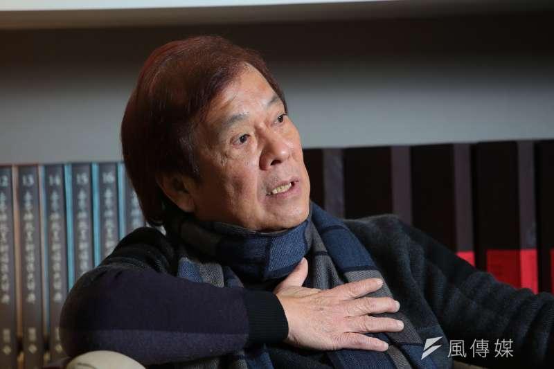民視介入運作一事,郭建宏表示,內部員工都是敢怒不敢言,他也不會逼員工表態。(顏麟宇攝)