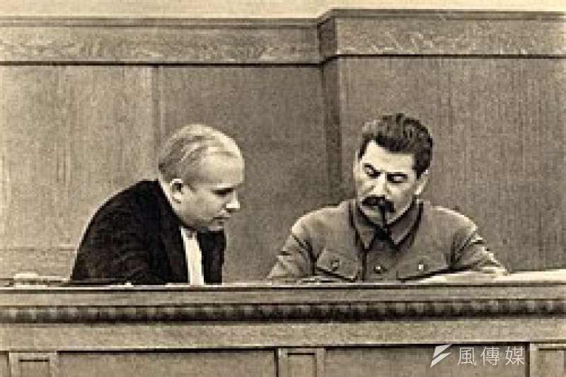 赫�雪夫和史�_林,1936年(取自�S基百科)