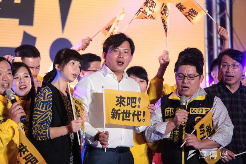時代力量以「來吧!新世代」為號召,預計在全台54個議員選區提名,不但令民進黨緊張,也引發其他第三勢力疑慮。(資料照,顏麟宇攝)