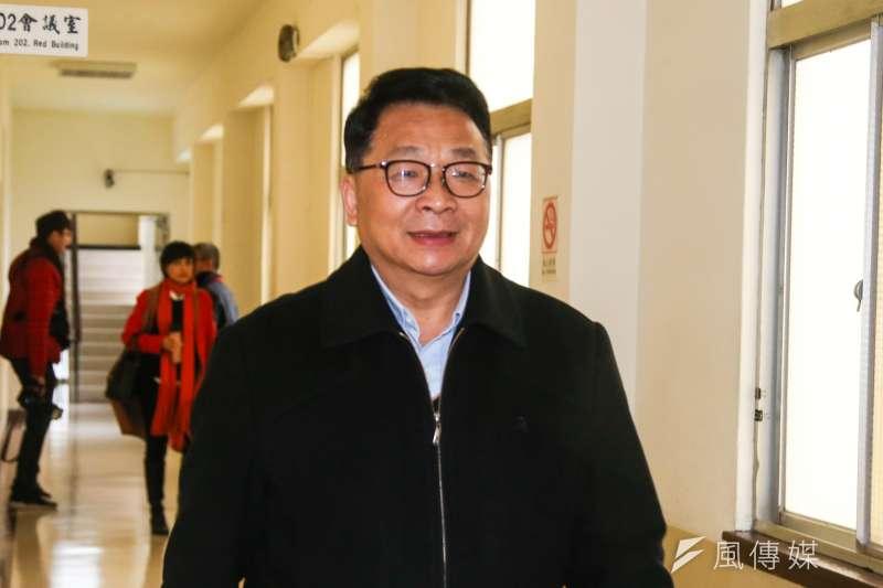 民進黨立委陳歐珀,20180129。(陳明仁攝)