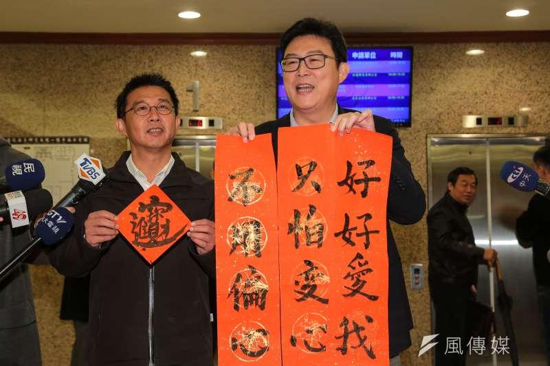 英系的台灣世代智庫公布民調今(14)日顯示,民進黨若提名姚文智與國民黨參選人丁守中、台北市長柯文哲競爭,黨內有50.5%支持姚文智。(資料照,顏麟宇攝)