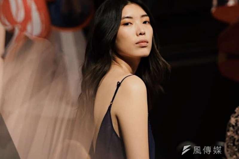 紐約時裝周:台灣模特兒徐晨軒(廖育婉提供)