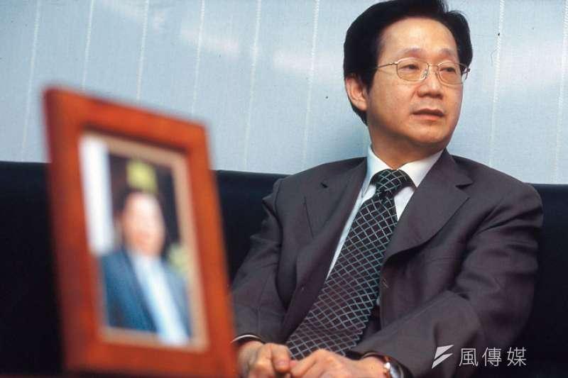 在陳水扁總統時代相當受重視的林文淵,並未因離開官方職務而消聲匿跡,事實上,過去幾年來市場受人矚目的併購案,幾乎都有林文淵的身影。(資料照片,新新聞提供)