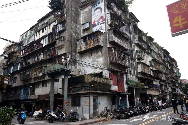 蘭州斯文里整宅,因其戶數多整合困難,台北市政府預計於今年5月15日開拆斯文里第三期,共260戶、226位所有權人。(蘇仲泓攝)