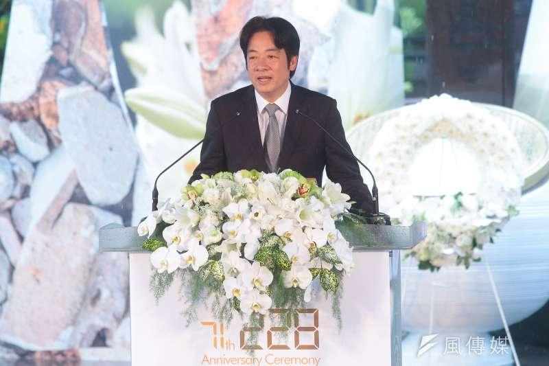 20180228-行政院長賴清德28日出席「二二八事件71週年中樞紀念儀式」。(顏麟宇攝)