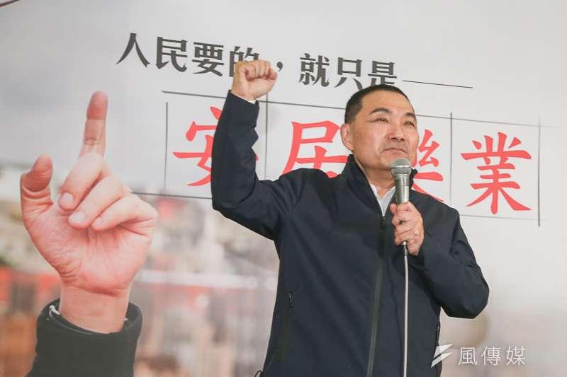 20180301-侯友宜參選新北市長說明記者會。(陳明仁攝)