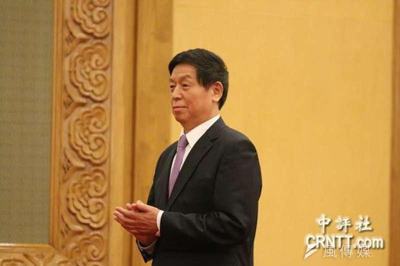 中共中央政治局常委栗戰書等10人,4日被推選為全國人大主席團常務主席。 (資料照,中評社)