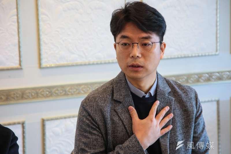 20180304-慰安婦專題,韓國馬山市,女子高中歷史老師魏光賢專訪。(顏麟宇攝)