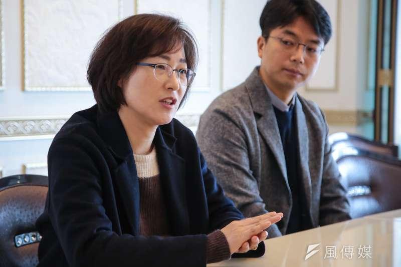 20180304-慰安婦專題,韓國馬山市,國中歷史老師姜錦子專訪。(顏麟宇攝)