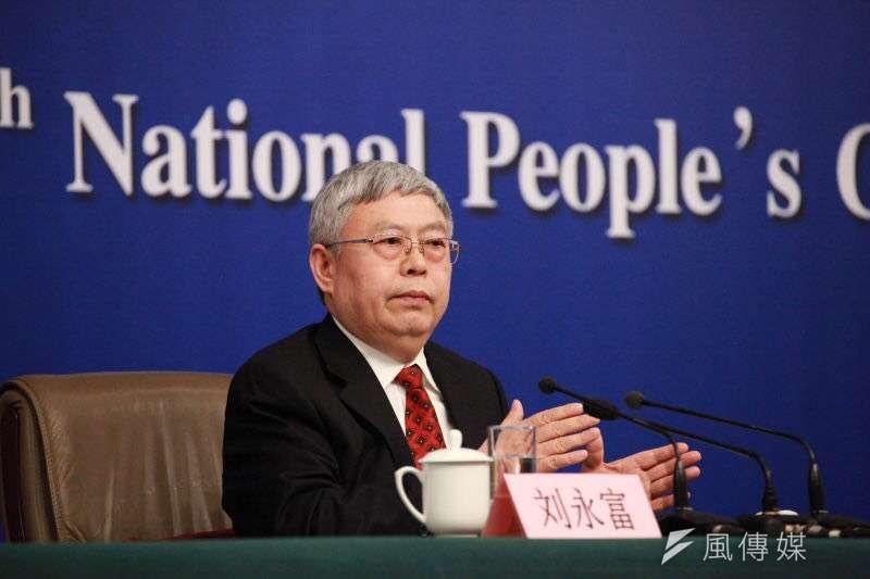 國務院扶貧開發領導小組辦公室主任劉永富,7日下午進一步表示,中國原有貧困人口高達9000萬,近1億,5年內,減少6000萬的貧困人口。(王彥喬攝)