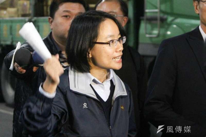 行政院長賴清德和台北市長柯文哲真的認為北農總經理吳音寧符合「專業」嗎?(方炳超攝)