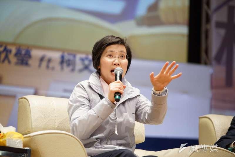 徐欣瑩今(14)日駁斥,捐款求禮讓的謠言,完全是子虛烏有。(資料照,盧逸峰攝)