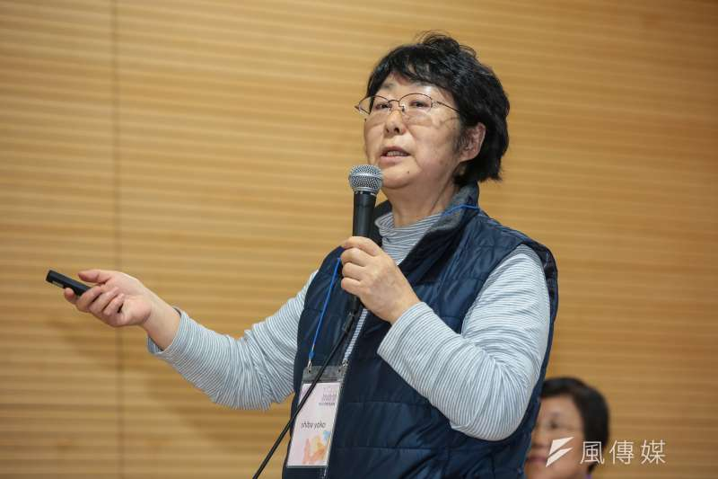 20180308-慰安婦專題,韓國首爾,日本團代表柴洋子出席第15屆日軍性奴隸問題亞洲團結會議。(顏麟宇攝)