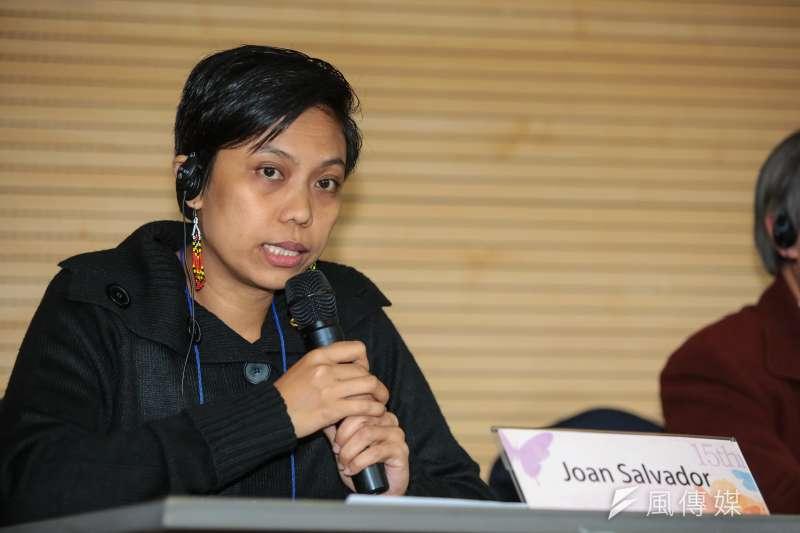 20180308-慰安婦專題,韓國首爾,菲律賓代表Joan Salvador出席第15屆日軍性奴隸問題亞洲團結會議。(顏麟宇攝)