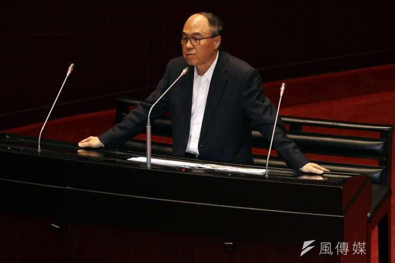 20180313-立法院院會,國民黨委員蔣乃辛質詢。(蘇仲泓攝)