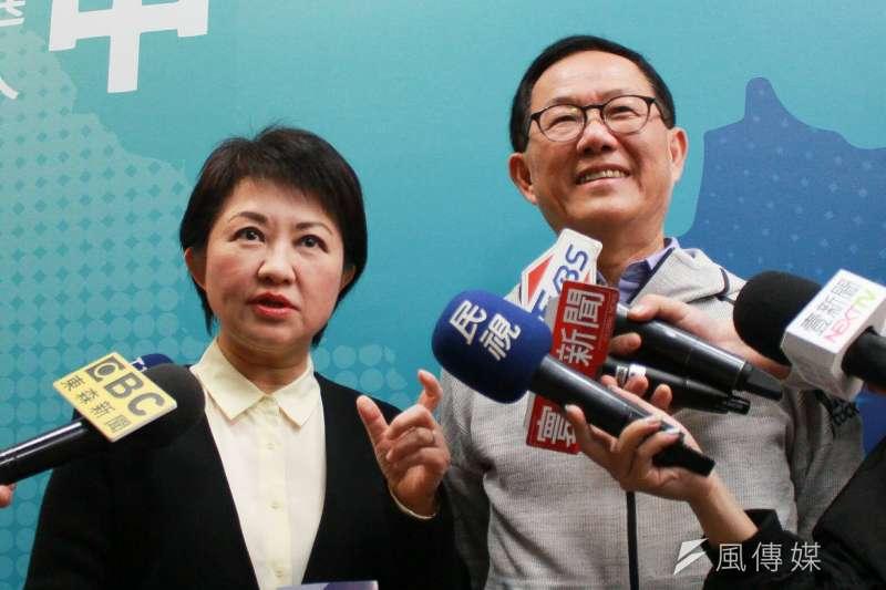 國民黨台北市長參選人丁守中、台中市長參選人盧秀燕,在確定提名後,民調都不差,但他們仍需提出完整的施政理念,才可能得到選民的支持。(資料照片,方炳超攝)