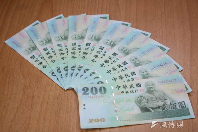 新台幣近期跌跌不休。(顏麟宇攝)