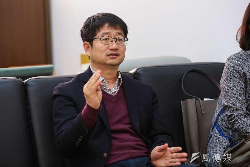 20180309-慰安婦專題,韓國首爾,東北亞歷史財團日韓關係研究所長南相九。(顏麟宇攝)