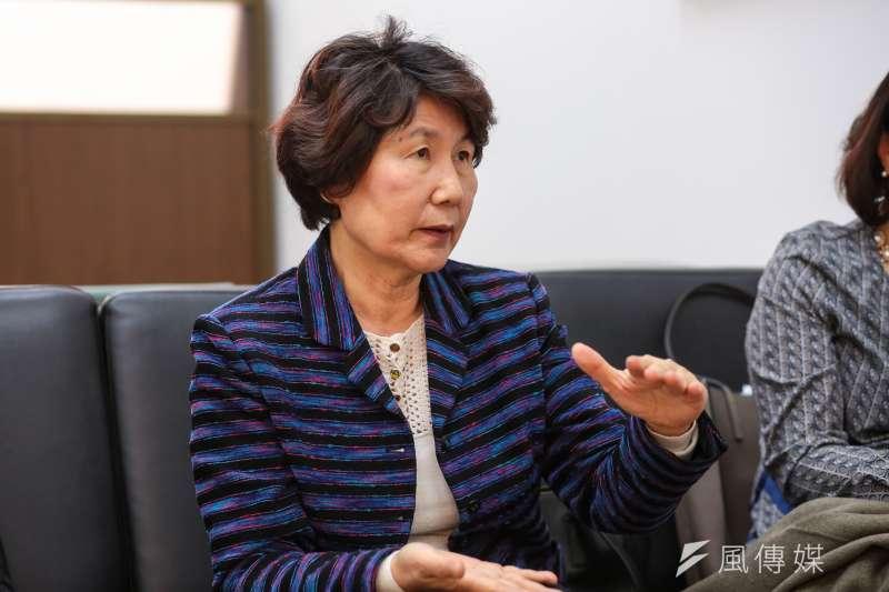 20180309-慰安婦專題,韓國首爾,聯合國人權高專署經濟社會文化權利委員會副主席申蕙秀。(顏麟宇攝)