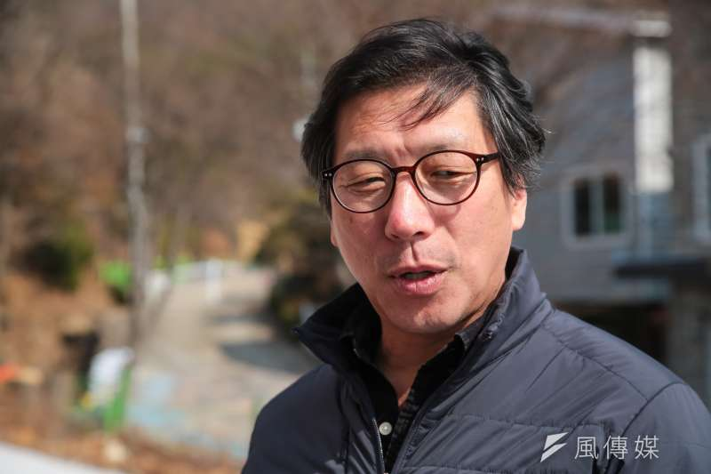 20180310-慰安婦專題,韓國京畿道廣州市,南韓首爾和平少女像創作者:金運成(男)。(顏麟宇攝)