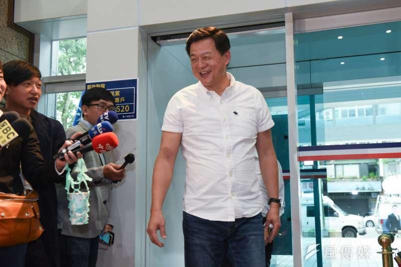 m國民黨6日公布新北市長初選結果,周錫瑋到場。(顏麟宇攝).jpg