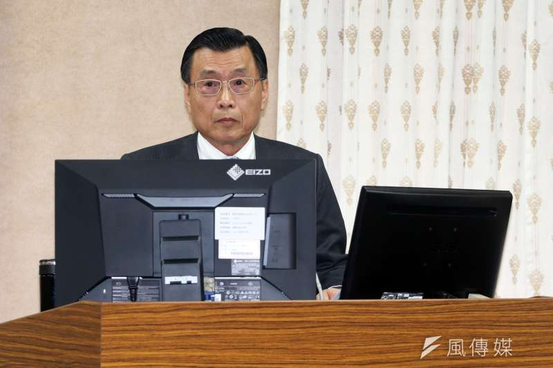 國安局長彭勝竹16日至立法院外交國防委員會報告並備詢。(蘇仲泓攝)