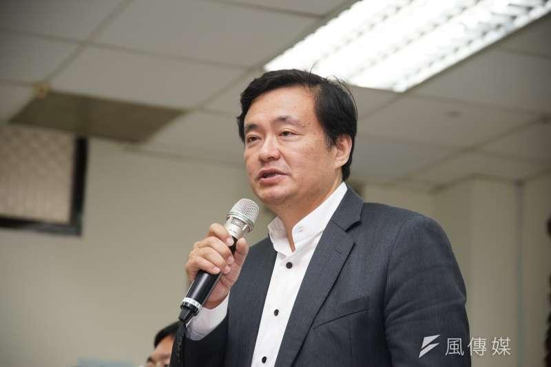 民進黨祕書長洪耀福說,勇於堅持改革,是民進黨求勝唯一方式。(資料照,盧逸峰攝)