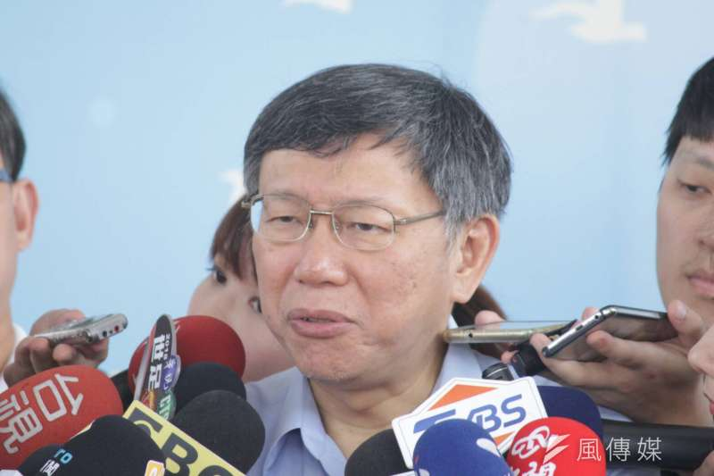 台北市長柯文哲(方炳超攝)