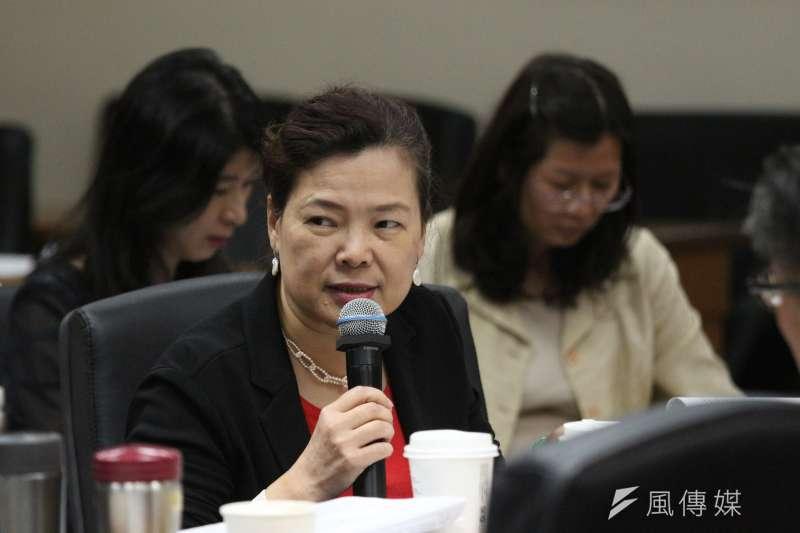 對所謂SOGO條款,經濟部次長王美花強調對經濟部而言,這是一條原則性條文。(資料照片,陳韡誌攝)